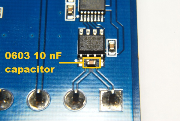 Capacitor Insert Smd Soldered
